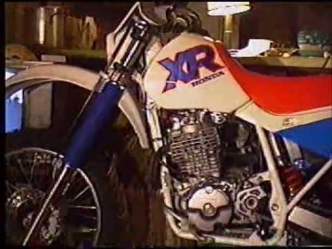 1992 Honda XR600R - YouTube
