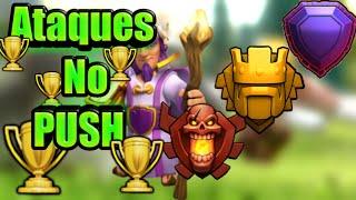#1 Ataques No Push !!! Clã Facção Central - Tche_BR - Clash of Clans