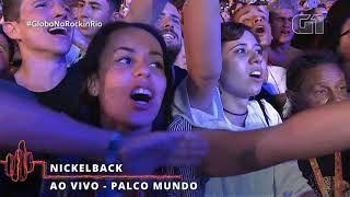 Nickelback - Far Away live Rock in Rio 2019