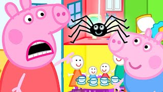 Peppa Pig Official Channel  Itsy Bitsy Spider