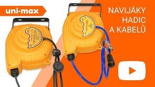 Dílna uni-max - Navijáky hadic a kabelů