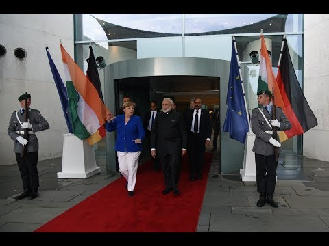 PM Modi at the Indo-German Business Summit in Berlin, Germany