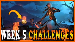 "FORTNITE SEASON 8 WEEK 5 CHALLENGES! - NEW ""THREE STRIKES SET"" SKINS! // Playing With SUBSCRIBERS"