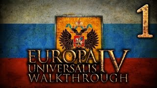 Прохождение Eвропа 4 за Московию(Россию). Часть 1 [Междоусобные войны]