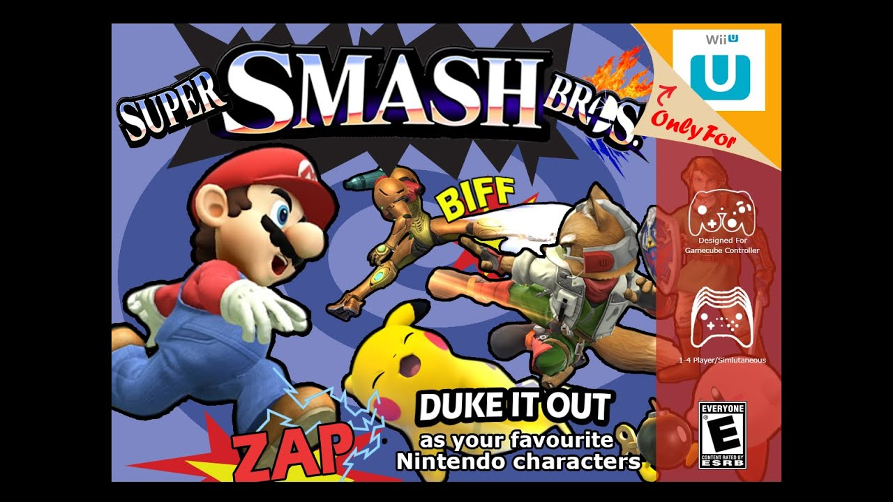 Download Smash Bros 4 in 64 Intro Style