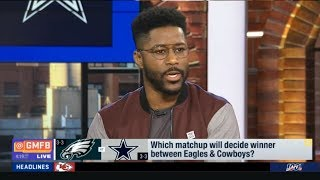 "Nate Burleson ""Bold Prediction"" Which matchup will decide winner between Eagles & Cowboys?"