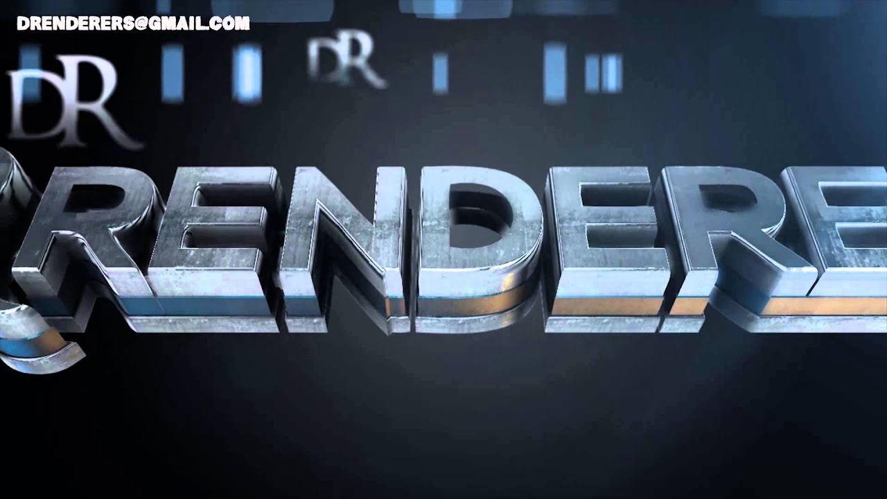 Element 3D Silver Skin Logo Animation (Make a video like this ...