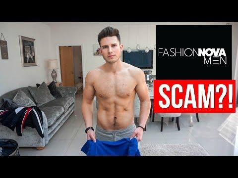 Is Fashion Nova A SCAM?   Men's Fashion Nova Try-On Haul