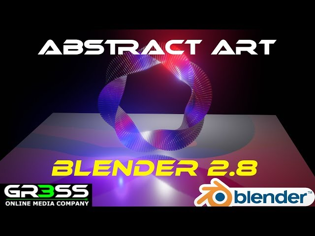 Blender 2.8 modellieren 🎬 | Abstract Art für Anfänger 👍