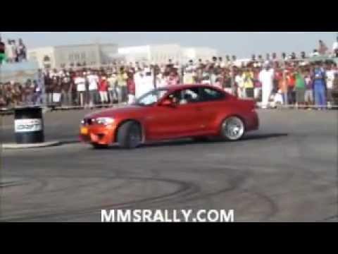 Abdo Feghali Drifting Red Bull Car Park Drift OMAN 2012