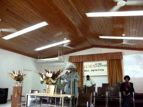 Week of Prayer -God's Saving Grace, Cockburn Town SDA. Michelle Williams