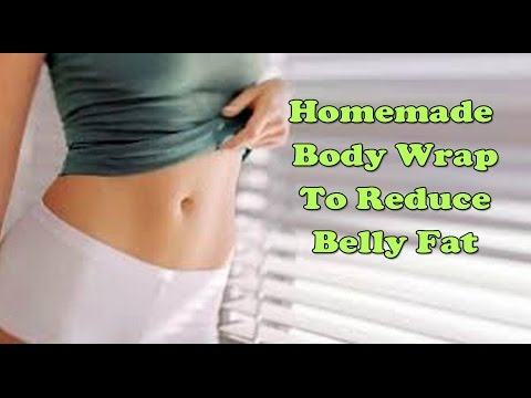 Homemade Body Wrap To Reduce Belly Fat | How To Get Flat Stomach Instantly