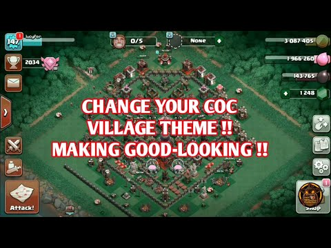 (HINDI) CHANGE COC THEMES !! NEW WAY TO PLAY COC ll COC STATION.