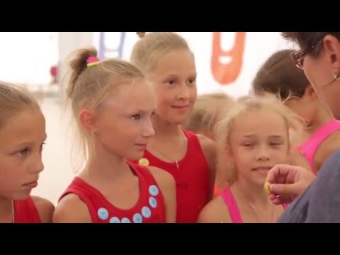 Alexandra Kiroi - Interview for Channel 31 and Highlights of Olympico Rhythmic Gymnastics Camp 2015