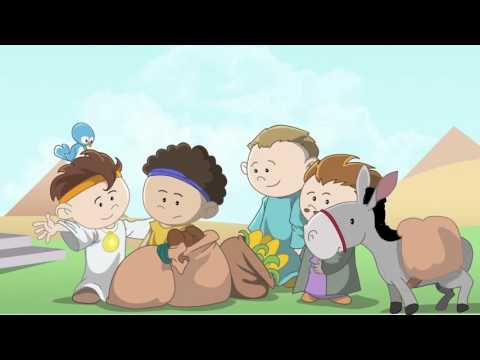 Joseph - Little Bible Heroes animated children's stories