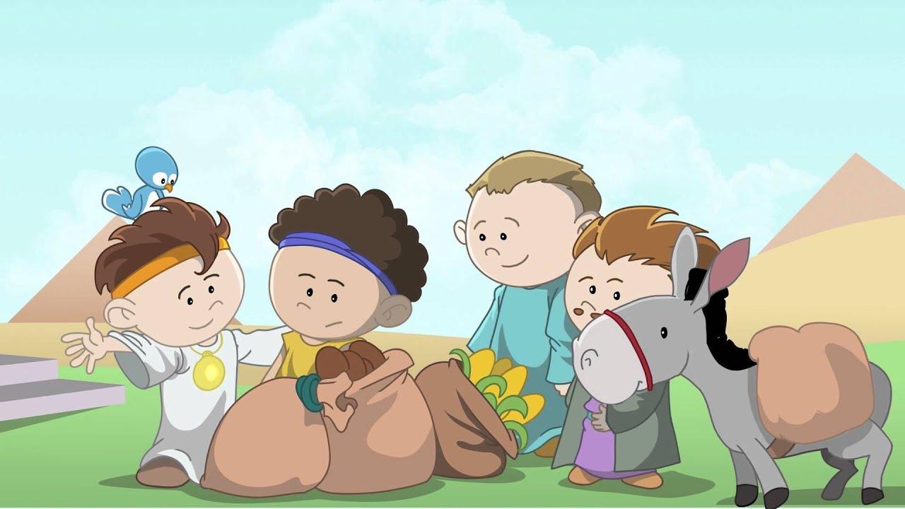 Joseph Little Bible Heroes animated