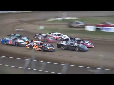 IMCA Late Model Heat 1 Independence Motor Speedway 7/27/19