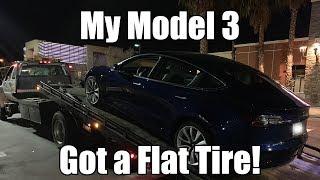 Model 3 - I Got a Flat Tire!