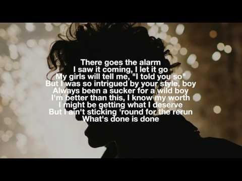 Alarm (Acoustic Version) - Anne-Marie - Lyrics