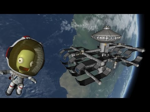 KSP Kerbal Orbital Dry Dock Pt 2