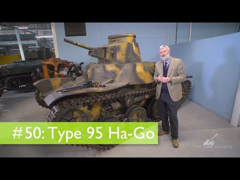 Tank Chats #50 Ha-Go | The Tank Museum