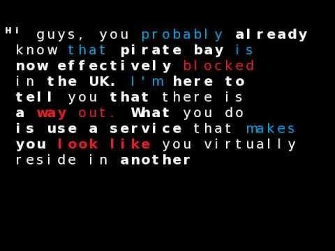 Pirate Bay Blocked In The UK