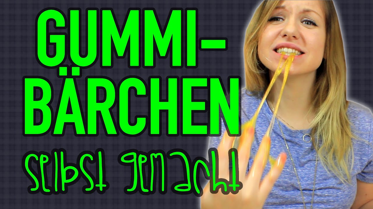 was ist das diy gummib rchen fail youtube. Black Bedroom Furniture Sets. Home Design Ideas