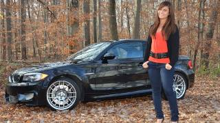 2011 BMW 1M Coupe Test Drive & Car Review with RoadflyTV host Shannon McIntosh