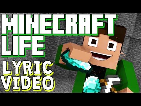 ♪-minecraft-song-'minecraft-life'-lyric-video