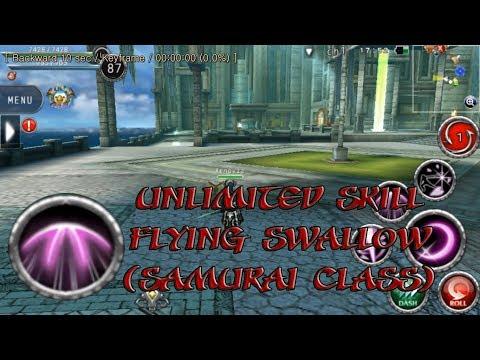 Avabel Online: Samurai Unlimited Skill!!!