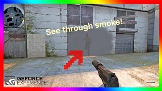 How To See Through Smoke In Csgo Nvidia