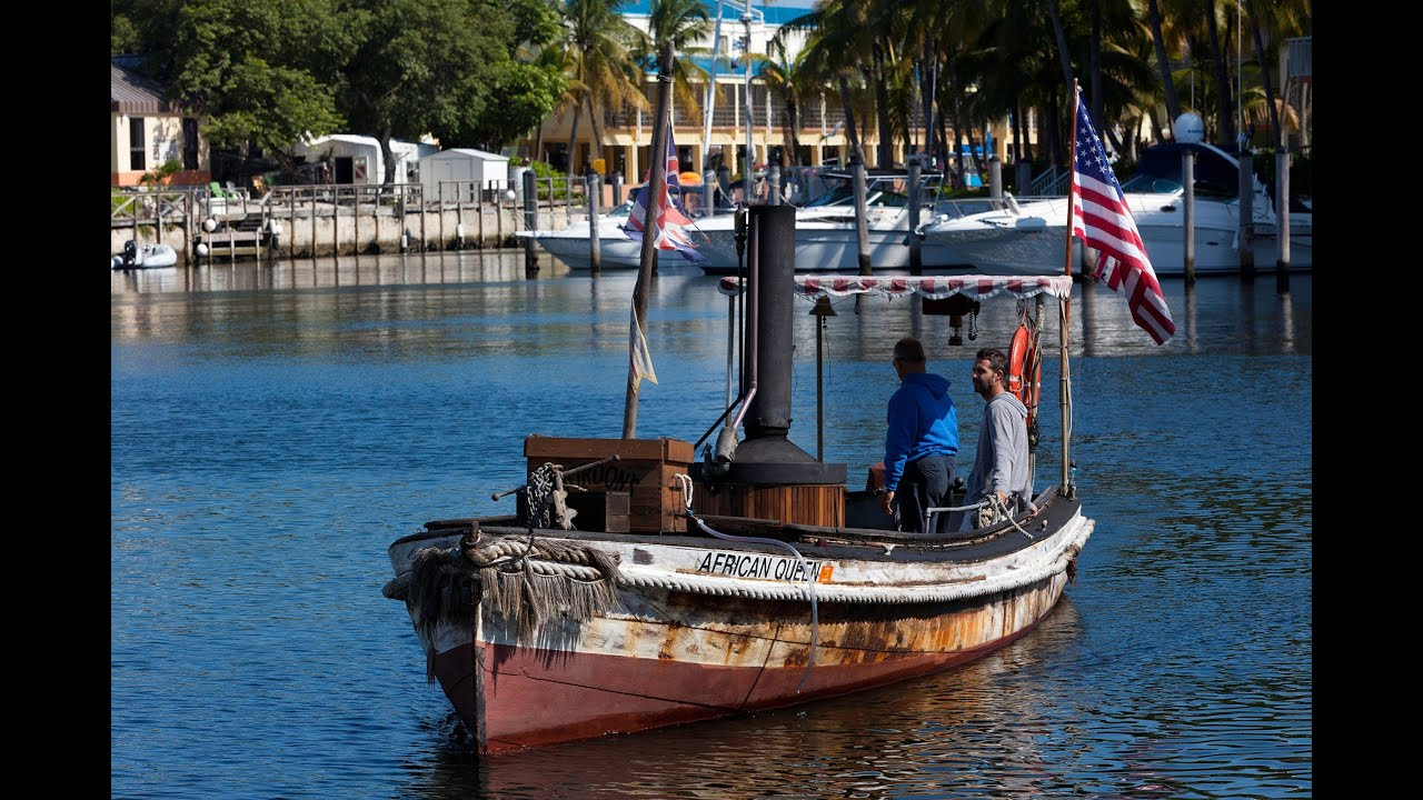 The African Queen in Key Largo, Florida - YouTube