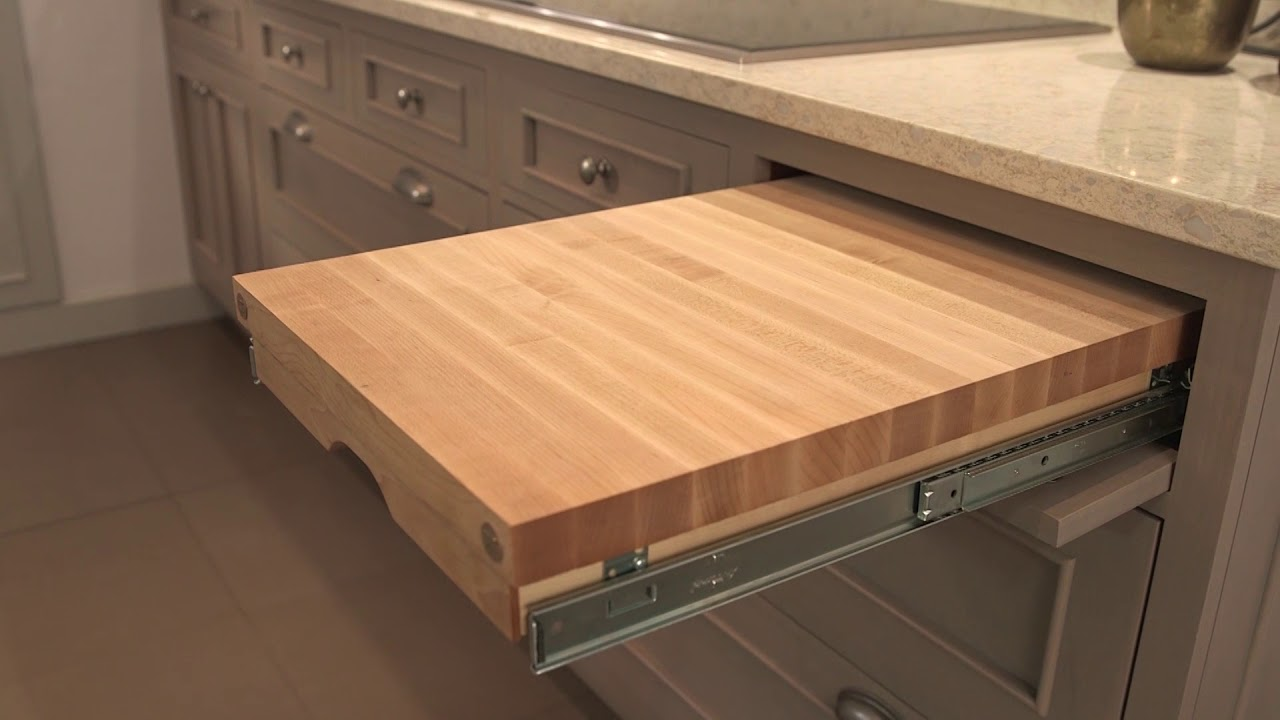 Top Pull-Out Cutting Board - YouTube TU35