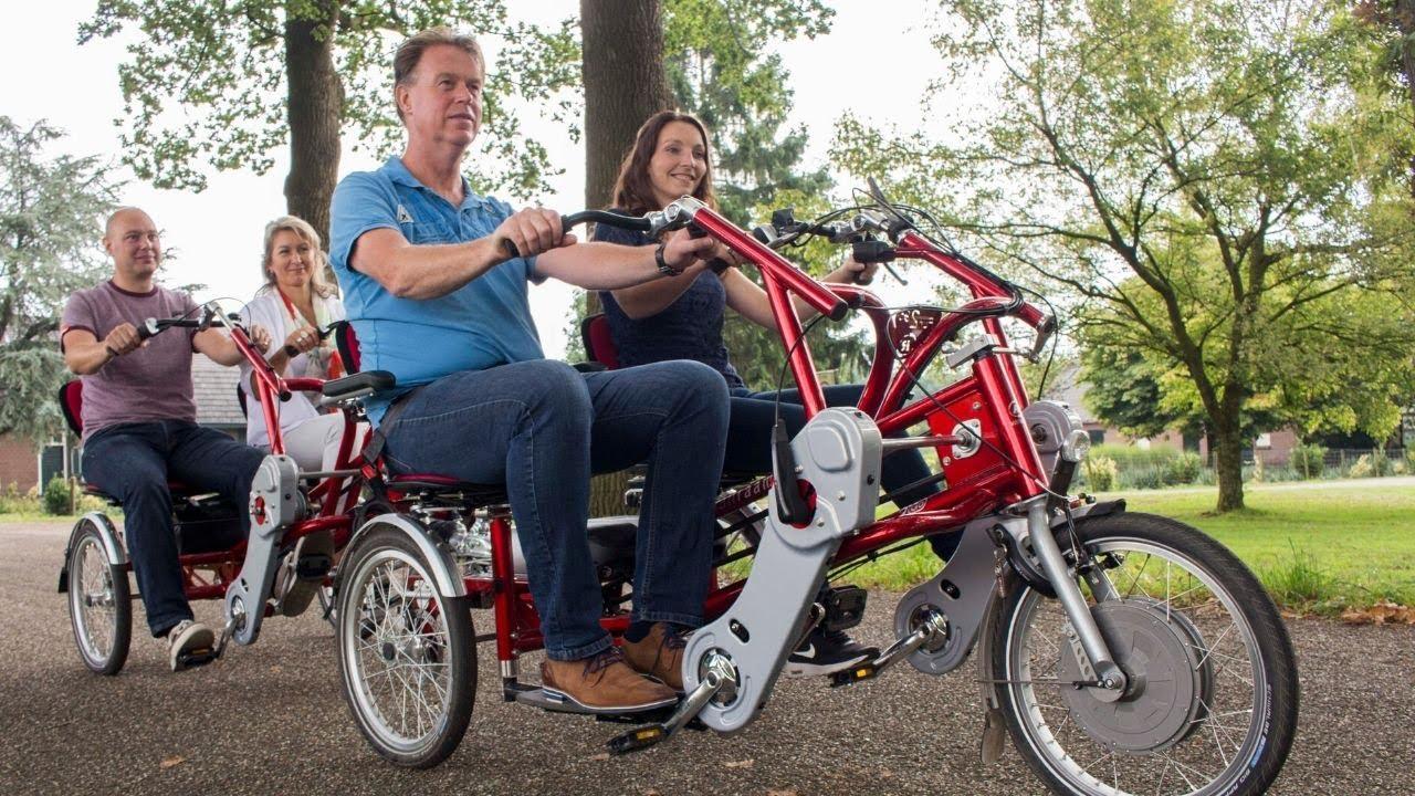 FunTrain: side-by-side tandem bike trailer
