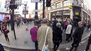 Real-time Cycle Ride Through Central London