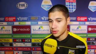 Video Gol Pertandingan PEC Zwolle vs Vitesse