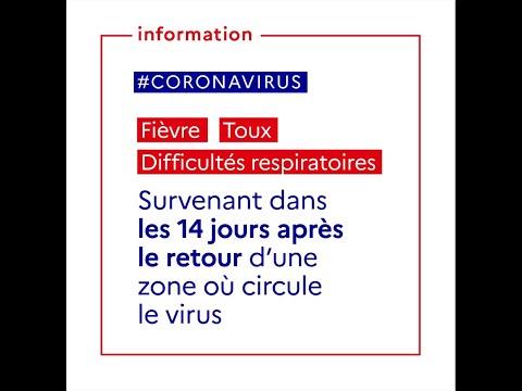 COVID-19   Quels sont les premiers symptômes du Coronavirus ? Comment réagir ?