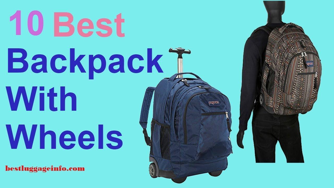 Best Backpack With Wheels  0945a918105af