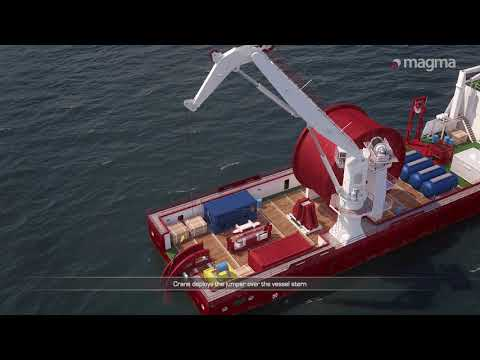 Magma m-pipe® flowline subsea deployment