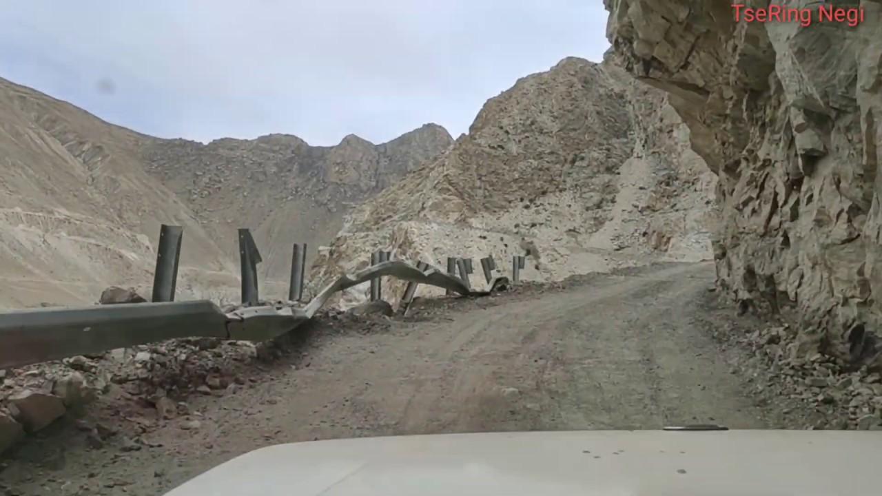 Dangerous Road of Kinnaur Himachal Pradesh India