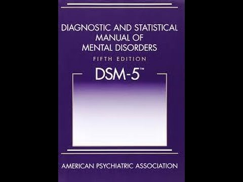 Los trastornos de Personalidad en el DSM-5  (parte 1)