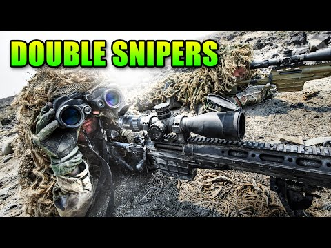 Double Sniper Team Wrecks The Enemy   Battlefield 4 Bolt Action Gameplay