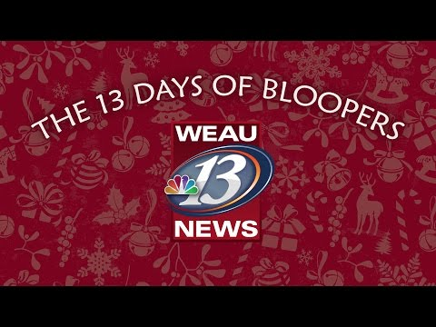 2016 WEAU Holiday Greetings (Blooper Reel)