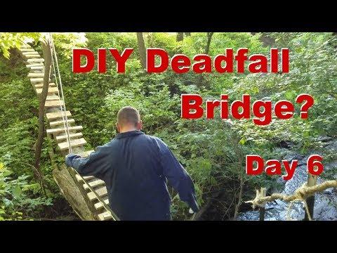 DIY Deadfall Bridge Project - Day 6