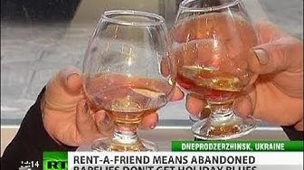 PaidPal: Drinking buddies for hire raise festive 'spirit' for lonely barflies