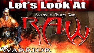 Realms of Ancient War (RAW) Warrior Gameplay (Dungeon Crawler RPG Games Like Diablo 3 2013)