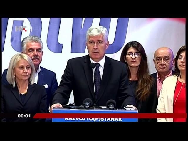 Izbori 2018: Izjava Čović