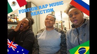 FOREIGN RAP MUSIC REACTION FT JAYVEE !!!