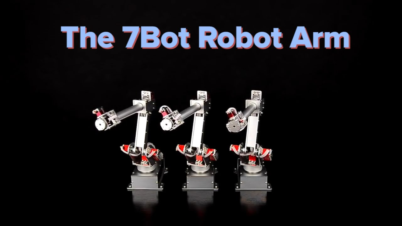 Crave - How to program the 7Bot Robot Arm