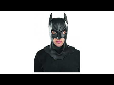MUST SEE review for SuperHero/Cosplay !! Rubie's Costume Co Batman The Dark Knight Rises Adult Ba..